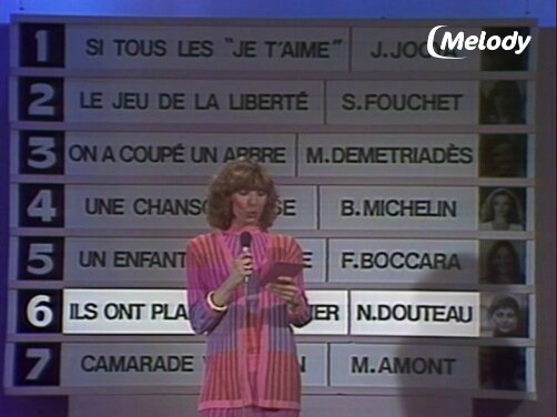 Evelyne Dhéliat 17866 Eurovision Qualification France Mars 1980