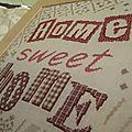 Tableau Home Sweet Home fini Lilipoints (3)