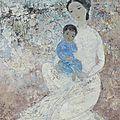 Vu cao dam (1908-2000), l'enfant en bleu