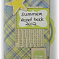 Summer road book