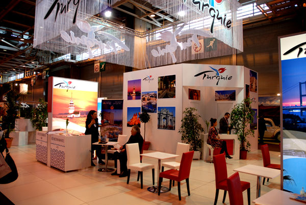 La turquie au salon du tourisme a paris istanbul la for Salon du tourisme belgique
