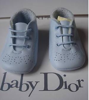 chaussures baby dior taille 17 neuves cuir bleu photo de. Black Bedroom Furniture Sets. Home Design Ideas