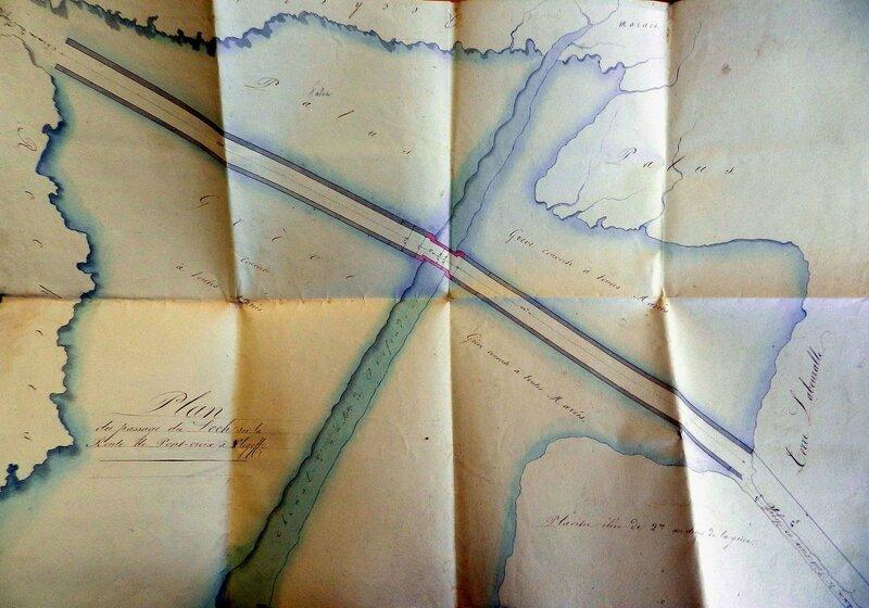 Ch26 - Anse du Loch - Plan de 1831 - avant projet