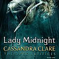 {cover reveal} - lady midnight, cassandra clare