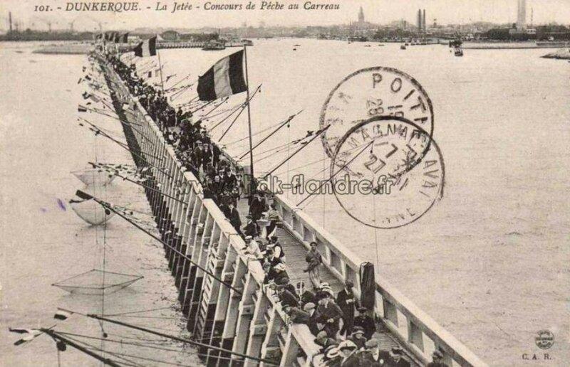 Dunkerque_Concours-de-pêche-au-carreauxen-1914_Jean-Marie-Verlynde_