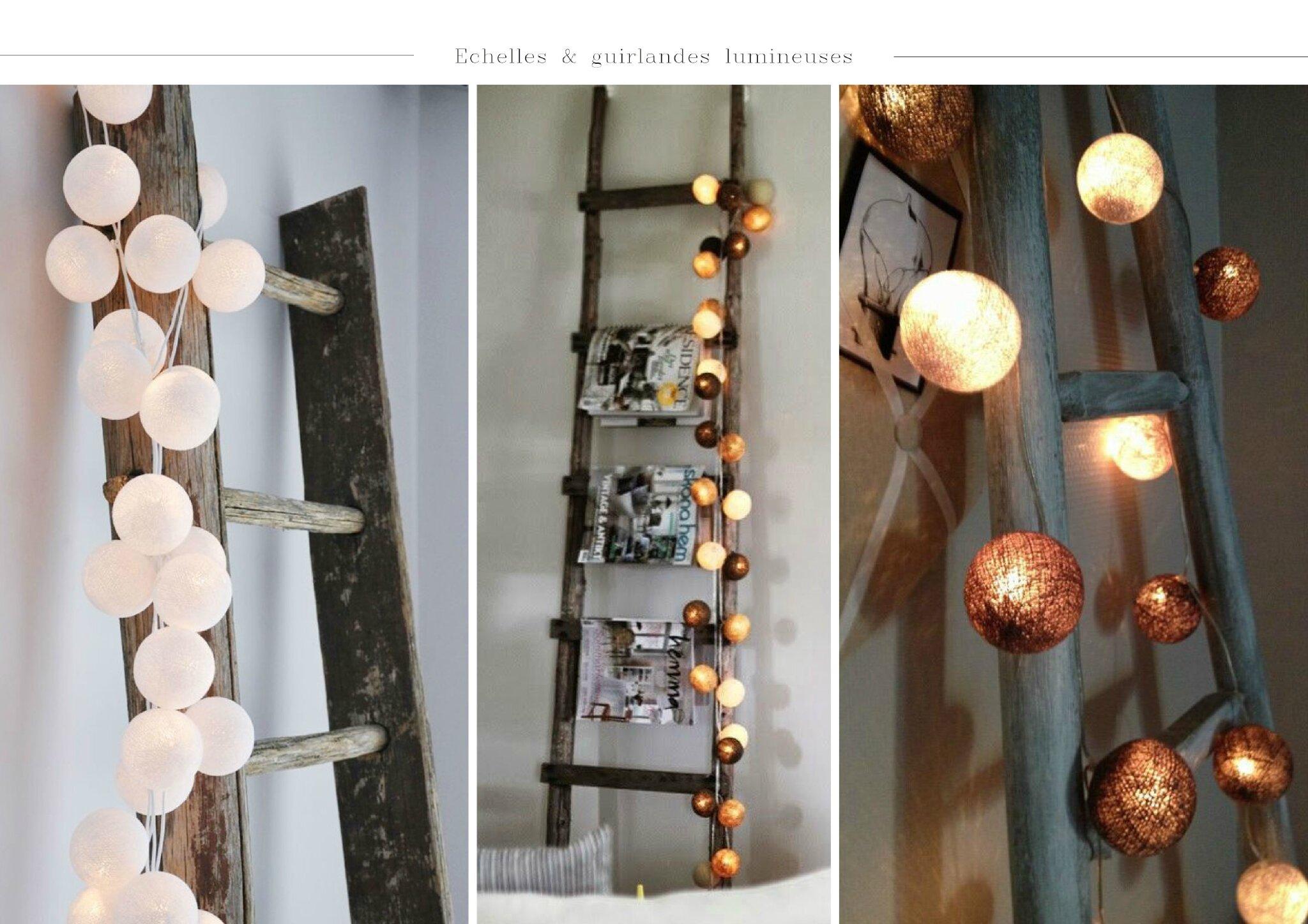beau guirlande lumineuse deco chambre. Black Bedroom Furniture Sets. Home Design Ideas