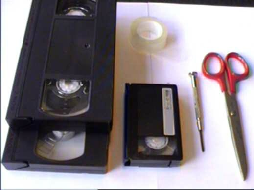 comment reparer une cassette video