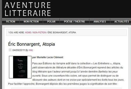 Aventure Littéraire_Atopia