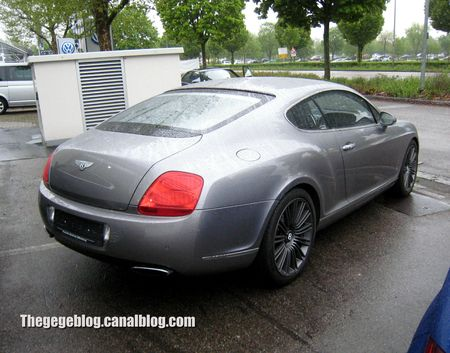 Bentley continental GT speed 6 coupé de 2013 (Offenbourg) 02