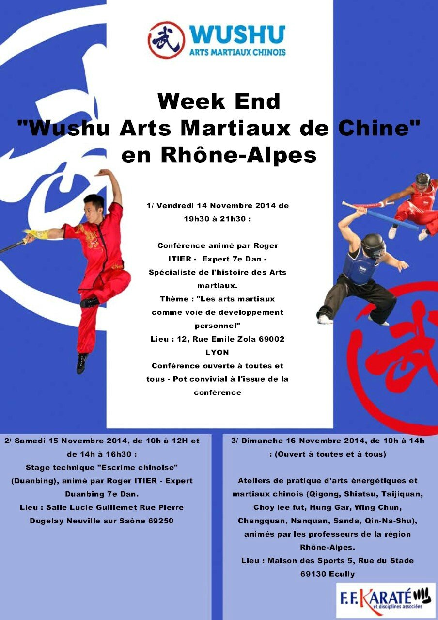 Week end wushu arts martiaux chinois en rhone alpes hskc for Maitre art martiaux chinois
