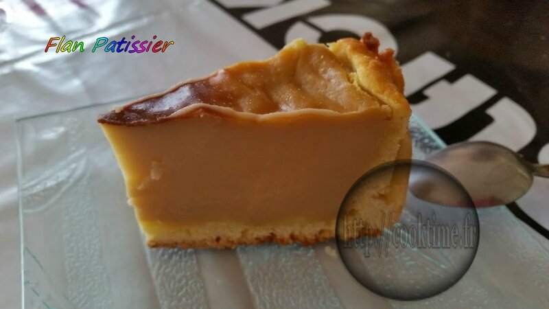 Flan Patissier Thermomix 1