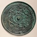 Mirror with dragons. china, song dynasty (960–1279), 11th–13th century