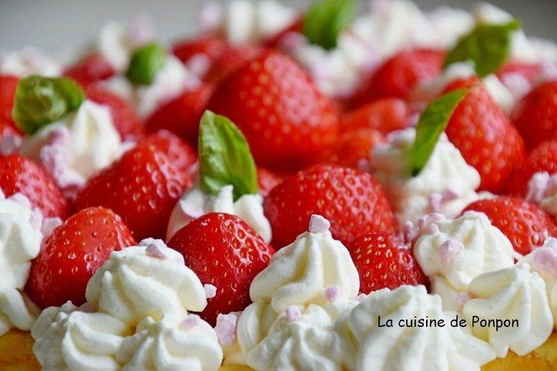 gateau fromage fraises (4)