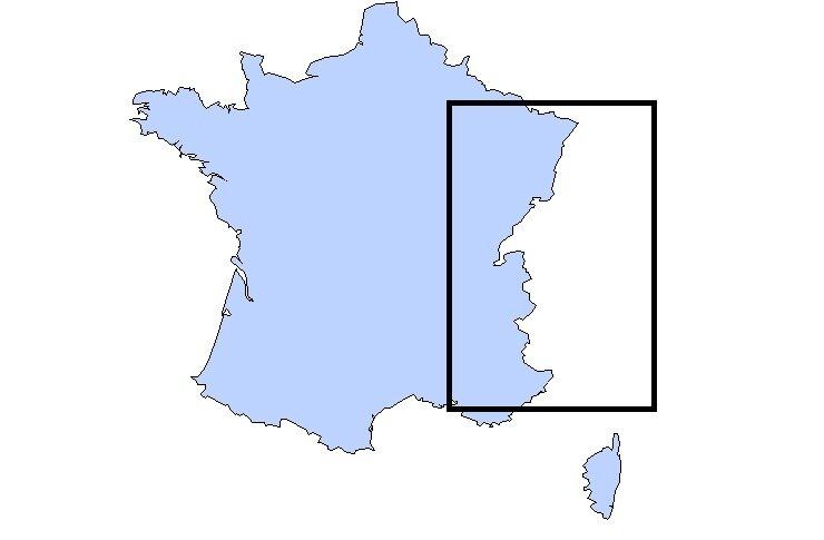 France profil Est