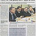 Aix en provence - article paru dans la provence dimanche 28 avril
