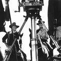 John Wayne and Dean Martin filming The Sons of Katie Elder 1965