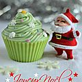 cupcakes chocolat et pices faon {sapins de Nol}