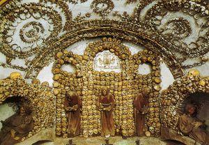 Crypte des Capucins rome SM della Concezione-atlasobscura