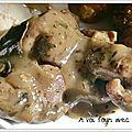 Canard aux herbes et piment d'espelette
