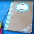 Diy: un carnet décoré avec trois fois rien!(vidéo)
