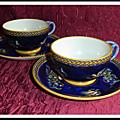 Tasses à déjeuner Gien Renaissance