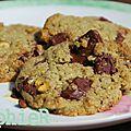 Cookies pistache -thé matcha