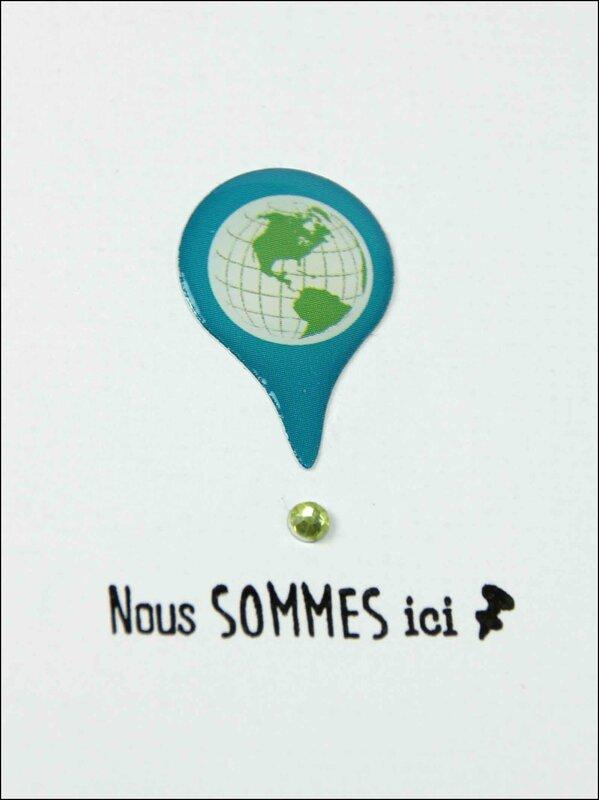 Globe trotter carnet de voyage DT Tacha 11p