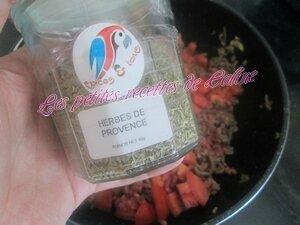 Wok de riz bolognaise21