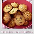 Financiers riches en goût