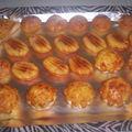Muffins aux lardons...