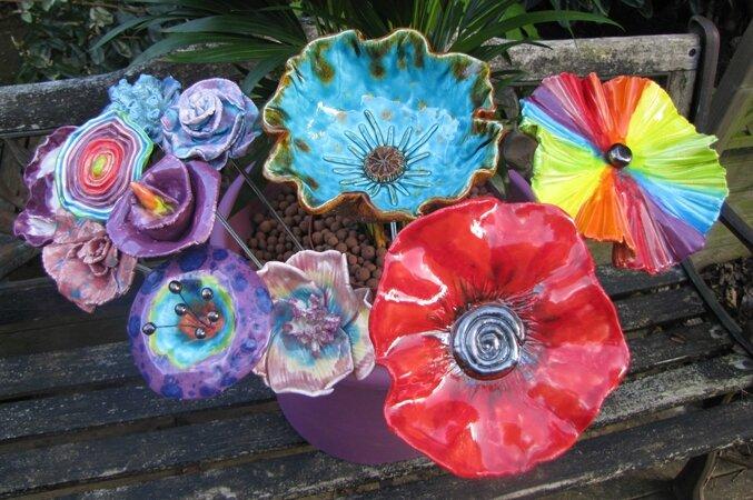 Fleur céramique1