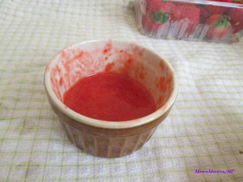 Mousse de fraises2