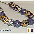 Collier de perles Millefiori