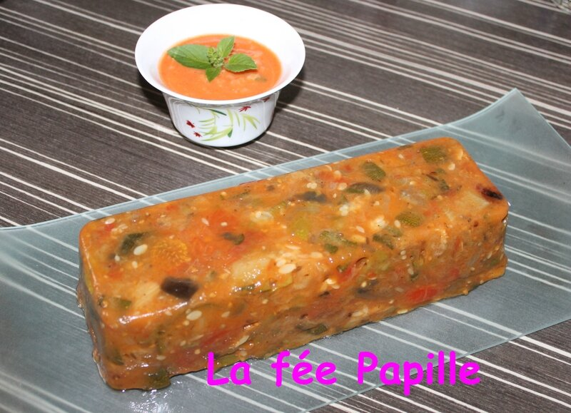terrine ratatouille