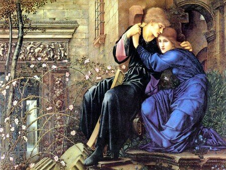 Burne_jones_love_among_the_ruins