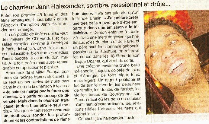 OUEST FRANCE 2010