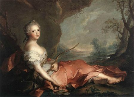 NATTIER_Jean_Marc_Marie_Adelaide_Of_France_As_Diana