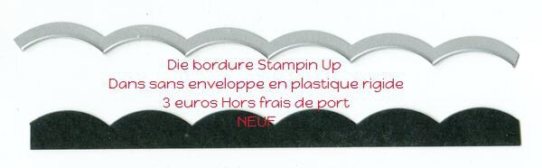 Dies bordure Stampin Up001