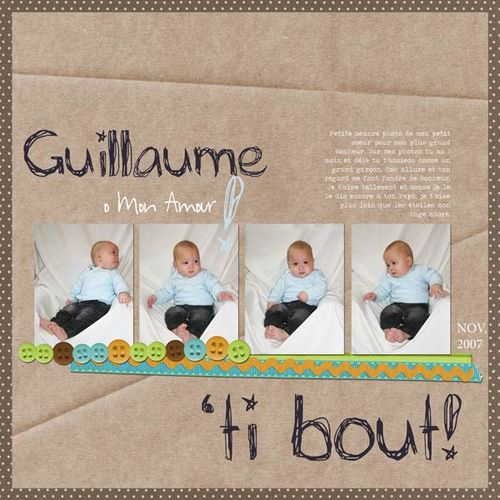 Guillaume 'ti bout