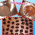 Petits chocolats caramel et amandes