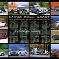 Calendrier : Garage Gassot - 2004