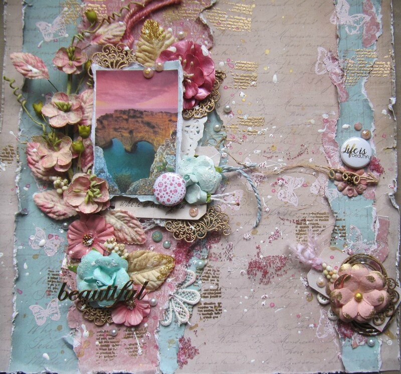 accent scrapbooking