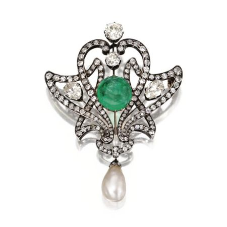 Silver_Topped_Gold__Emerald__Natural_Pearl_and_Diamond_Brooch__Circa_1890a