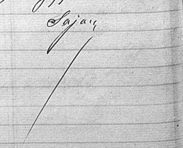 signature Sajou