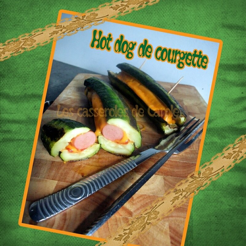 Hot dog de courgette (SCRAP)