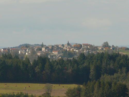 2008 10 17 Saint Jeures vu depuis Madelonnet haut