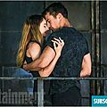 Tris and Four Shailene Woodley and Theo James Divergent movie