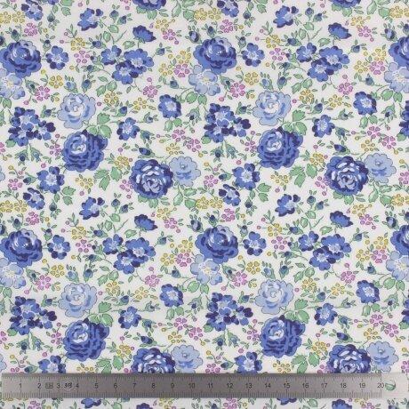 Tissu LIBERTY Felicite bleu