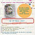 L'atelier de béapassion rendez-vous du 20 mars 2017
