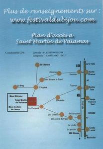 Itinéraire Festival du Bijou